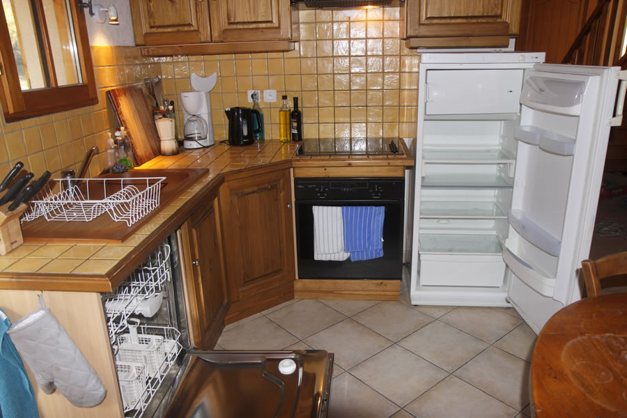 A dishwasher is a real boon when self-catering