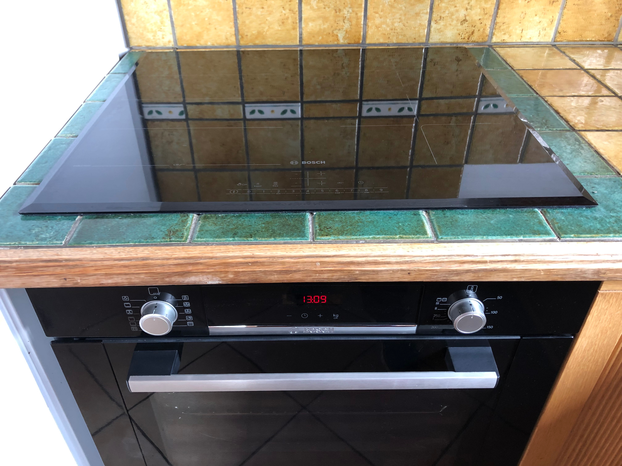 Bosch Oven And Induction Hob