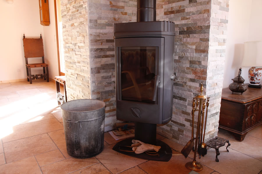 Cosy woodburner ideal in winter