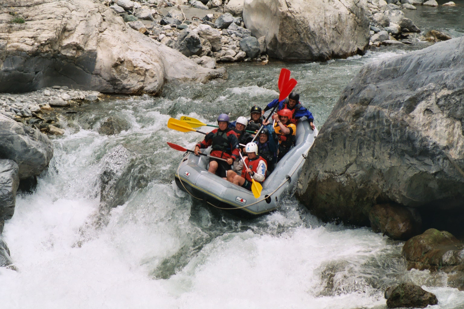 rafting on the guil guillestre