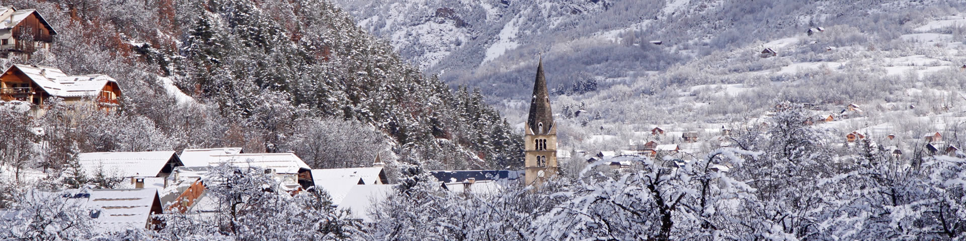 Winter in Vallouise - The Southern French Alps