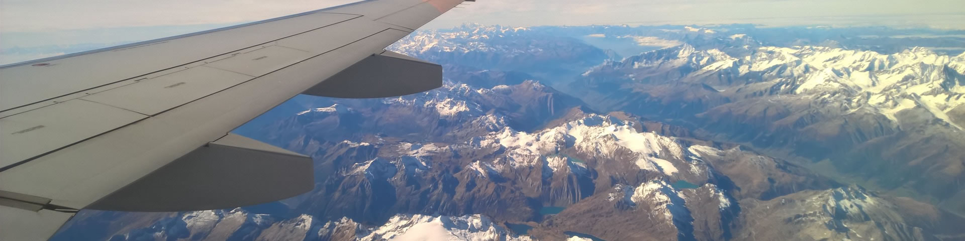 aeroplane travel to french alps